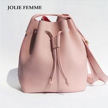 Buy 2016 Girls Cute Korean Bags Bucket Leather Shoulder Sling Bags Women Drawstring Handbags Ladies Small Crossbody Bucket Bags for $9.89 in AliExpress store
