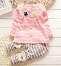 2015 new style Baby clothes sets  autumn and spring  girls clothing sets baby  boy clothes  set long-sleeve and pants