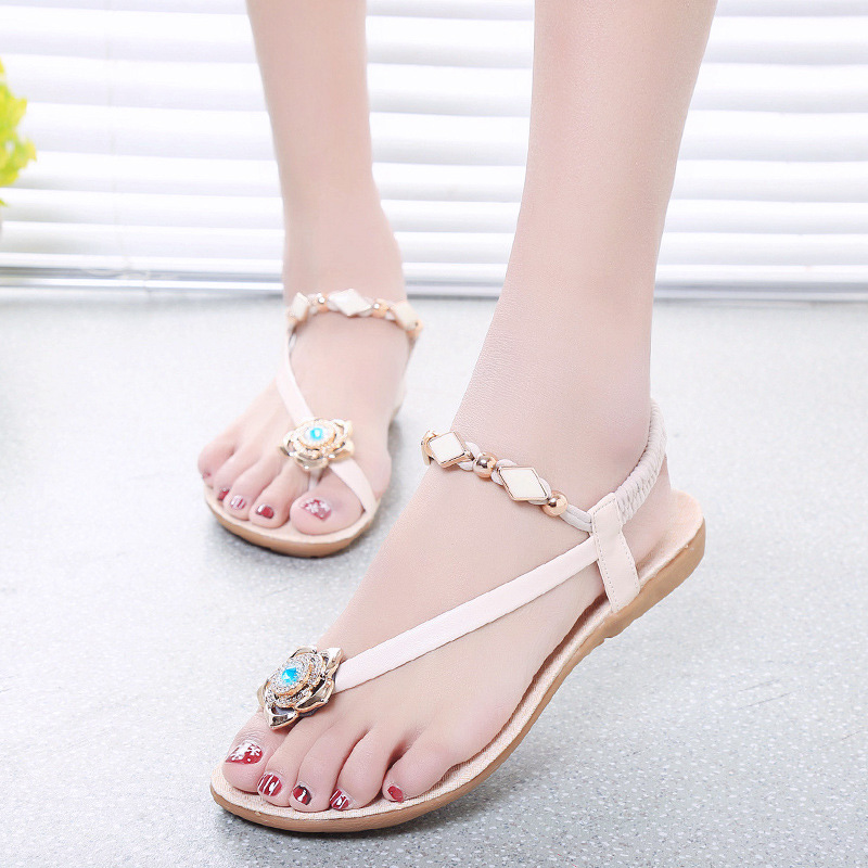 Model Home Products Shoes New Summer Women Sandals 2016 Fashion Rhinestone