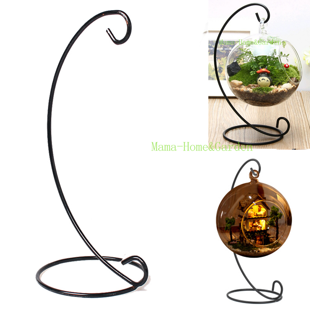 13 Inch Plant Stand Hanging Vase Hydroponic Wedding Decor Metal Plant Holders Hanging Creative DIY Home Office Decoration P3(China (Mainland))