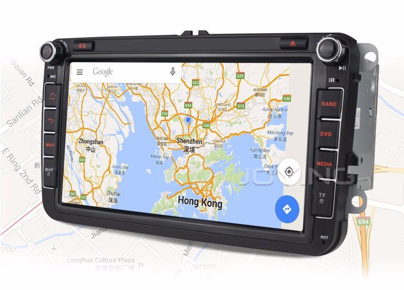 Купить Радуясь 2 Din Android 5.1 Quad Core 2 ГБ + 32 ГБ 1024*600 Стерео GPS Навигация Для VW Skoda POLO GOLF PASSAT CC JETTA TIGUAN