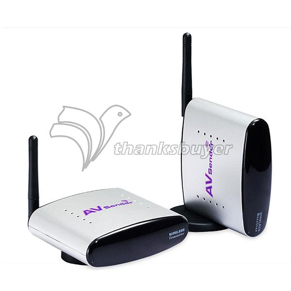 PAT-330 150m 2.4GHz Wireless AV Transmitter & Receiver Audio Video A/V Sender CE & FCC 4 Channels(China (Mainland))