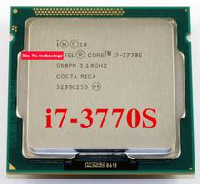 Core i7 3770S 3.1GHz 8M SR0PN Quad Core Eight threads desktop processors Computer CPU Socket LGA 1155 pin