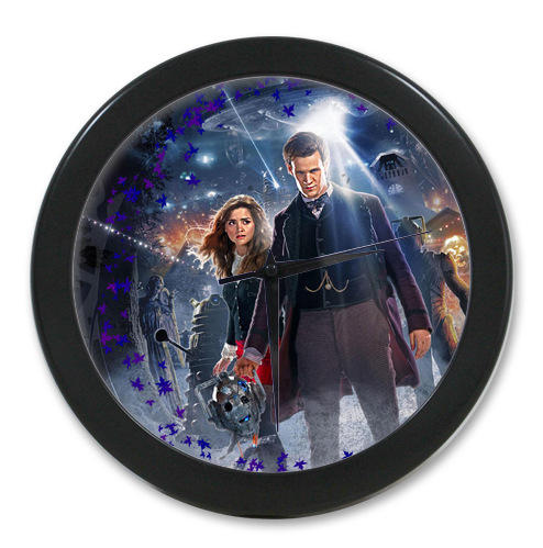Original <font><b>Home</b></font> <font><b>Decoration</b></font> Customized Doctor Who <font><b>Elegant</b></font> Wall Clock Modern Design Watch Wall Free Shipping #LQ025