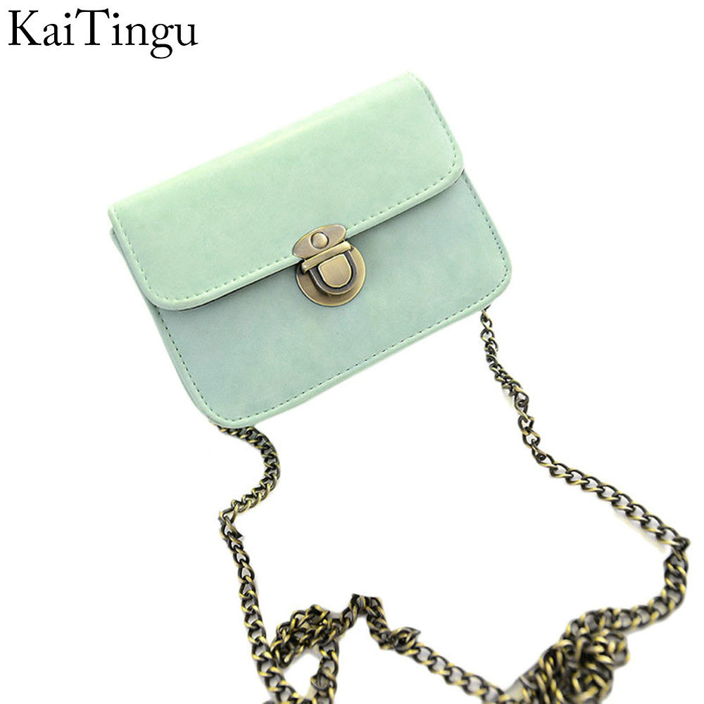 New Fashion Mini Women Bag Low Price Cheap Women Message Bags Lovely Gilrs PU Leather Adjustable Chain Crossbody Shoulder Bag(China (Mainland))