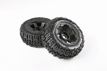 Buy Rovan parts 1/5 scale gas rc baja tyres parts 5T rear knobby tyres set 95074 for $40.00 in AliExpress store