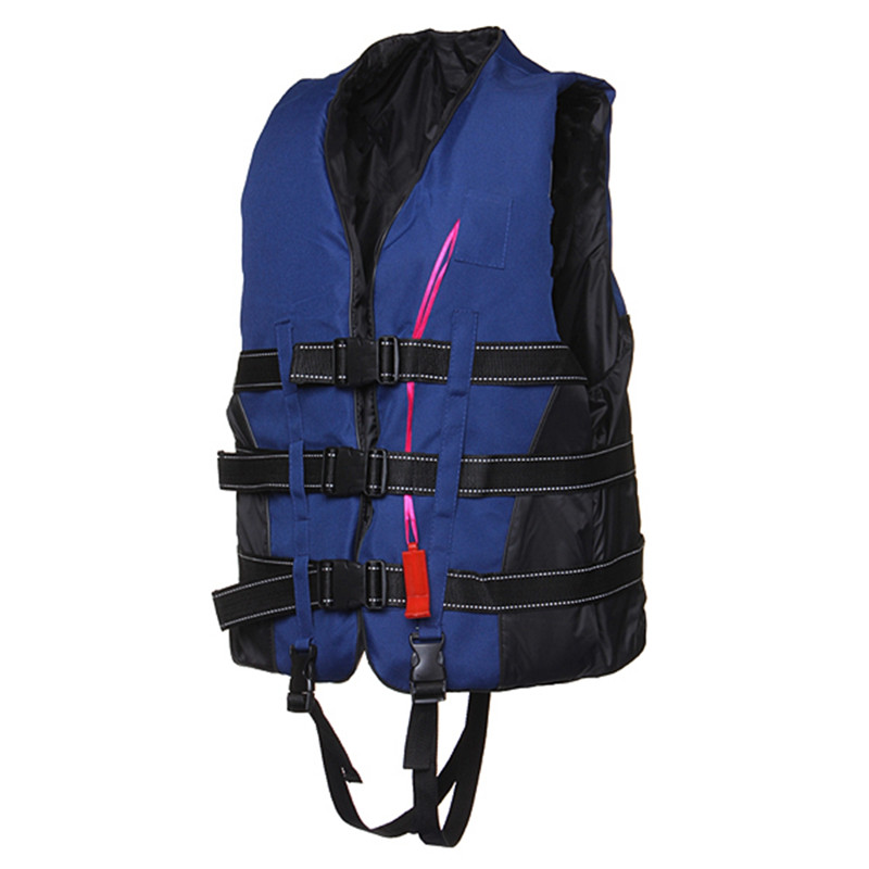High quality Adult Foam Flotation Swimming Life Jacket Vest With Whistle Boating water fishing Swimming Safety Life Jacket(China (Mainland))