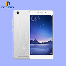 Original xiaomi Redmi 3 2G/16G Redmi3 snapdragon 616 4100mAh 13ML 5″screen octa-core smart phone dual-sim card slot