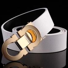 2016 New designer belts men high quality mens belts luxury buckle men Business designer leather belt men/Woman Brand Belt(China (Mainland))