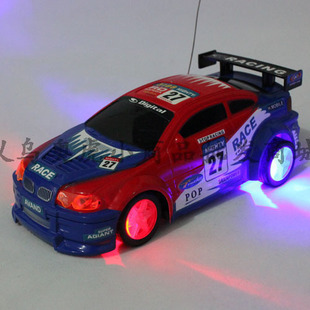 electric car factory price fast tracking remote control toy car electric flash the tyres with lamp