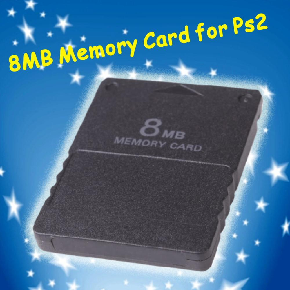 10pcs New Card for PS2 for Playstation 2 for PS 2 8MB 8M 8 MB Memory Hot New