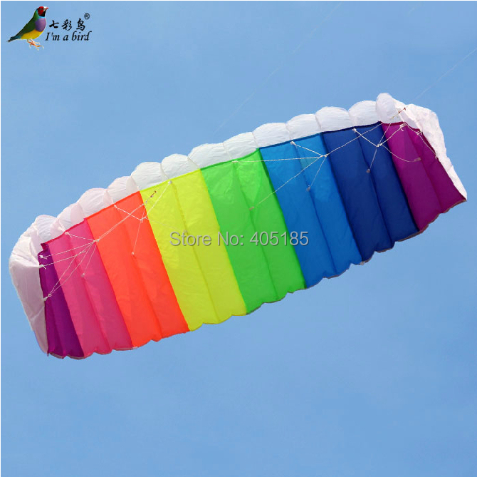 HOT SELL New 2.7m Stunt Power Kite Kite Boarding Kite Surfing So Exciting and Good Flying Free Shipping(China (Mainland))
