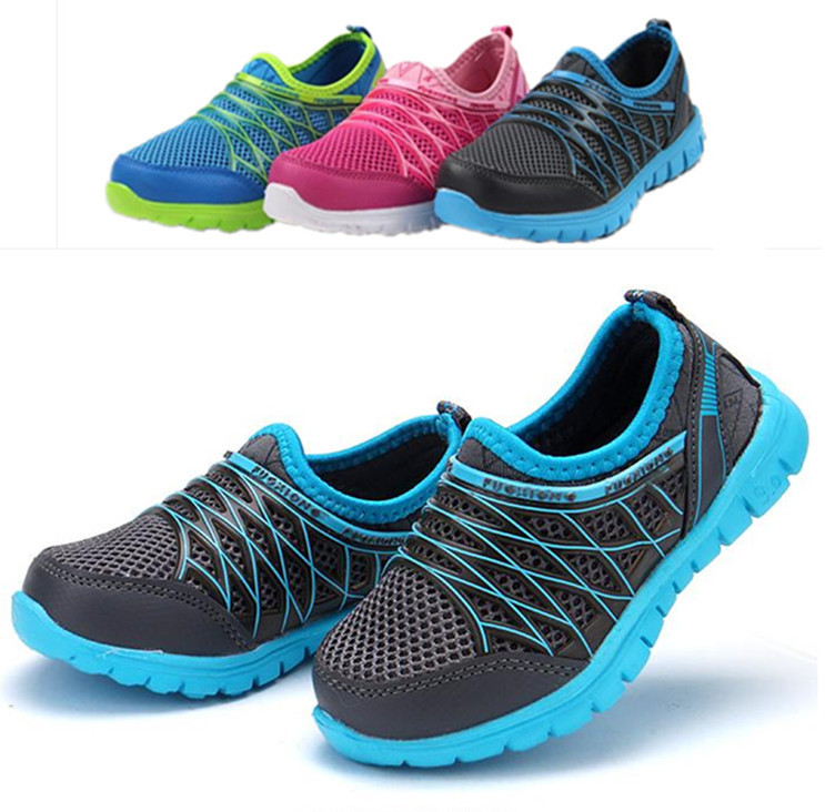 new 2015 spring summer children sneakers kids shoes boys boots soft outsole net fabric breathable girls casual sport shoes()