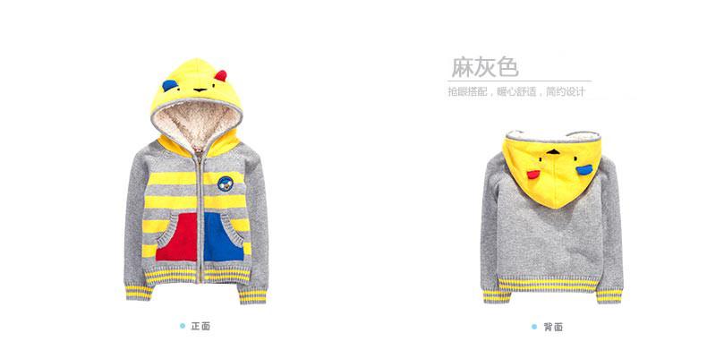 Скидки на Дети детские пальто кашемир сгущает пальто хлопка-проложенный одежды для ребенка зимнее пальто с мультфильм крышка с капюшоном куртка для ребенка