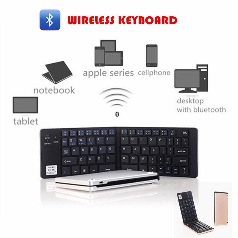 Wireless Keyboard Android Bluetooth Keyboard Opvouwbaar Wireless Mini Keyboard Tablet Teclado Inalambrico Folding Keyboard GK228(China (Mainland))