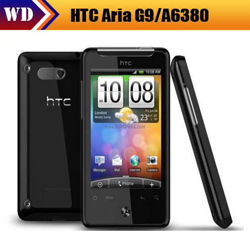 A6380 Original HTC Aria G9 smartphone Android 3.2inch touch 3G phone with WiFi GPS 5.0mPix camera free shipping(China (Mainland))