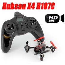 New Arrived Hubsan H107C Mini Drones with Camera HD 2MP 6-axis Gyro RC Quadcopter Black & Red 2.4G 6-axis 4CH RC Quadcopter