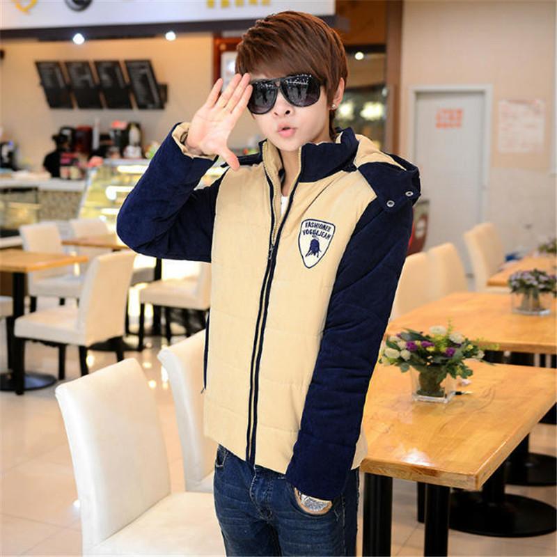 Canada Goose womens outlet authentic - Plus Size Thick Velvet Fashion Coat Winter Men Jacket Warm ...