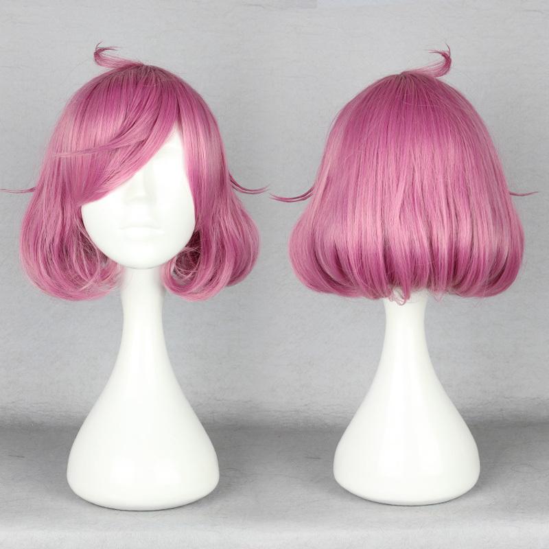 Very Nice Pink Noragami Ebisu Joy 35cm Medium High Grade Cosplay Wig Free Shipping<br><br>Aliexpress