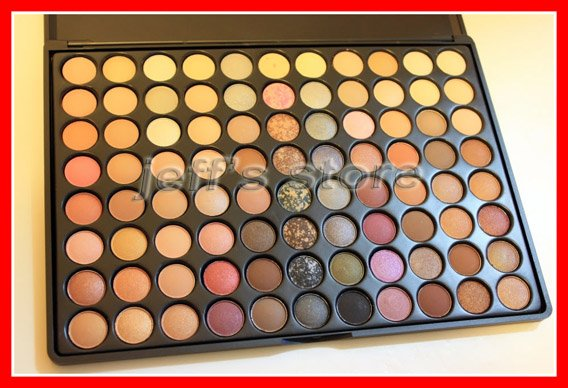 PRO 88 Ultra Shimmer Warm Eyeshadow Matt Palette 88 Warm Color Makeup Palette(China (Mainland))