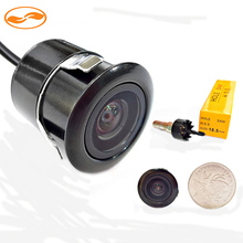 10PCS/Lot Universal Parking Assistance Camera , Mini 18.5mm Wide Viewing Angle Waterproof Parking CCD Car Rear View Camera(China (Mainland))