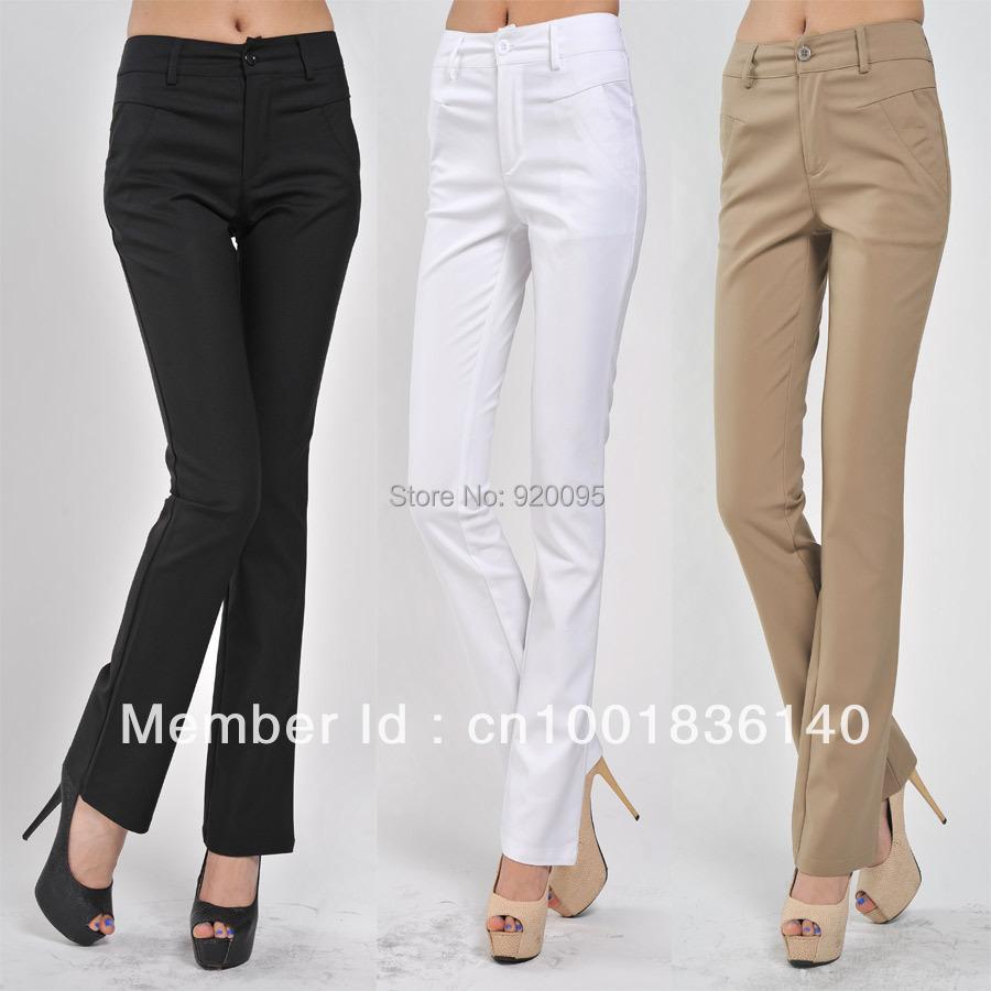 Pants Women Black Khaki