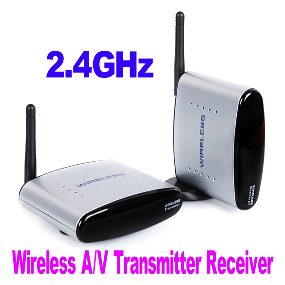 NI5L New PAT-330 150m 2.4G Wireless AV Sender TV Audio Video Transmitter Receive Free Shipping(China (Mainland))