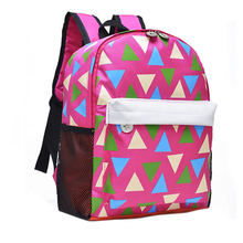 New brand Backpack 2015 fashion Children School Bag Cute Baby Toddler Canvas Shoulder Bags for boys girls(China (Mainland))
