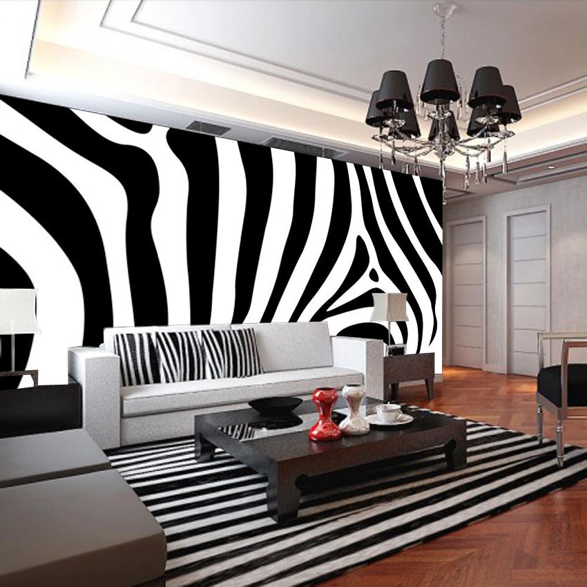 Popular white vinyl sofa buy cheap white vinyl sofa lots for Black white mural
