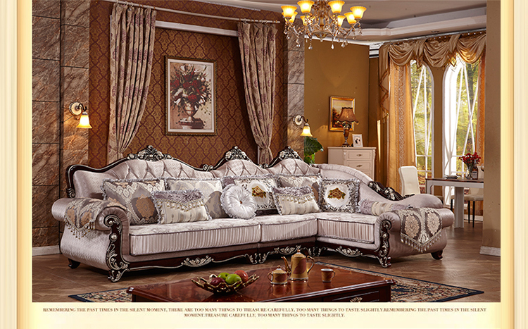 Living room european style sofa new classics french sofa for Living room woodwork designs