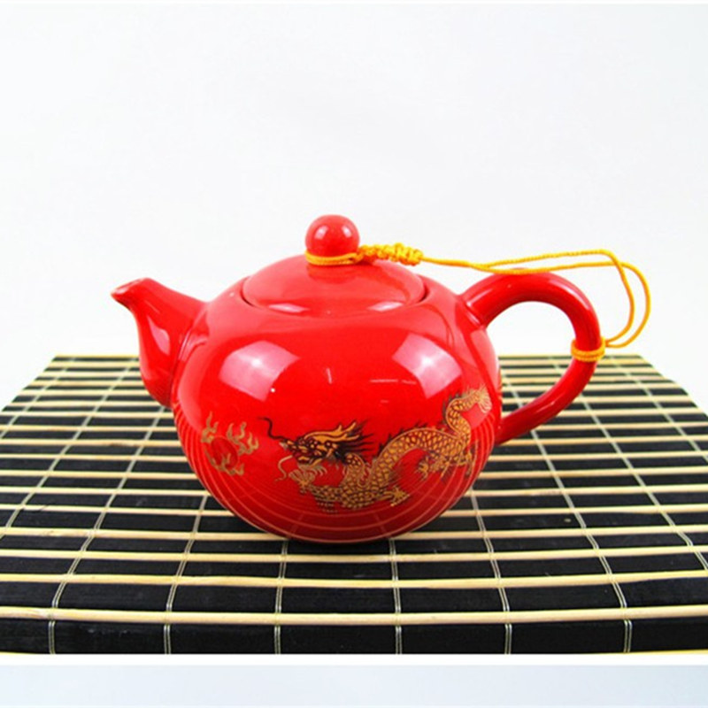 Hand Painted Chinese Coffee Set