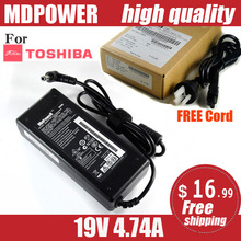 MDPOWER For TOSHIBA Satellit M209 M211 M212 laptop power supply power AC adapter charger cord 19V 4.74A