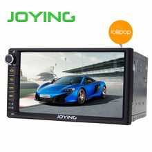 "Joying Double 2 Din Android 5.1.1 Lollipop 7"" Universal Car Radio Quad Core Head Unit 1024*600 HD Car GPS Navigation+Rear Camera(China (Mainland))"