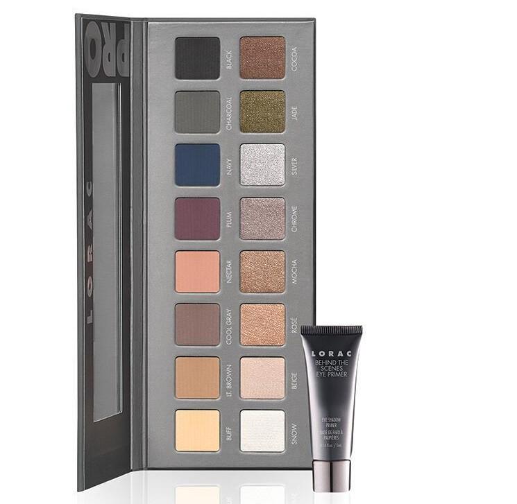 Гаджет  free shipping 2014 new Lorac PRO Palette 2 eyeshadow makeup 16 color eye shadow palette with eye primer Brand Make up set None Красота и здоровье