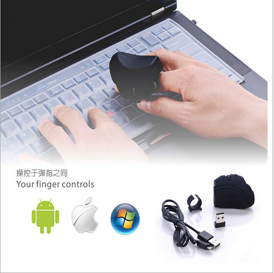 Strange Ring exquisite 2.4G wireless mouse built capacity lithium battery plug and play portable Bluetooth mouse(China (Mainland))
