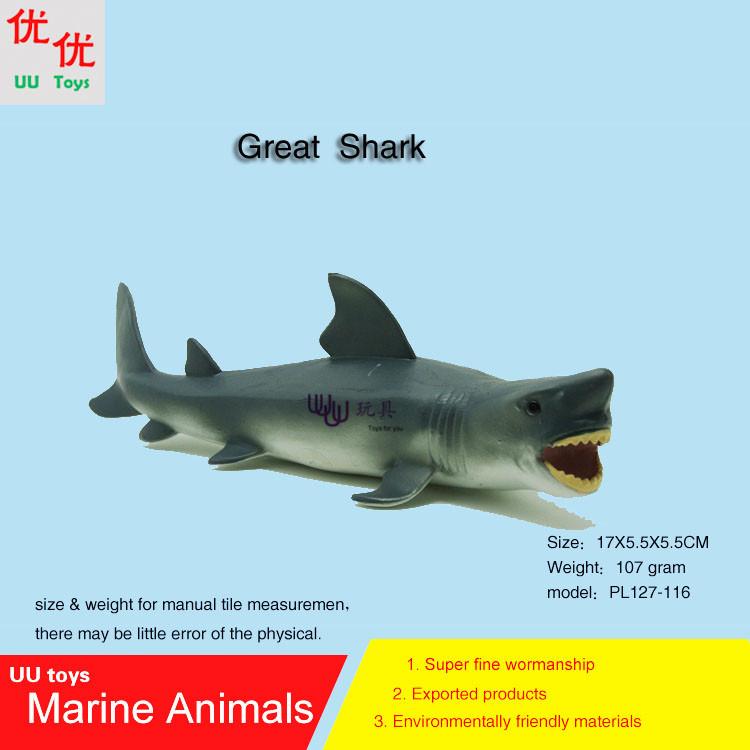 Hot toys Great white shark Simulation model Marine Animals Sea Animal kids gift educational props (Carcharodon carcharias Jaws )(China (Mainland))