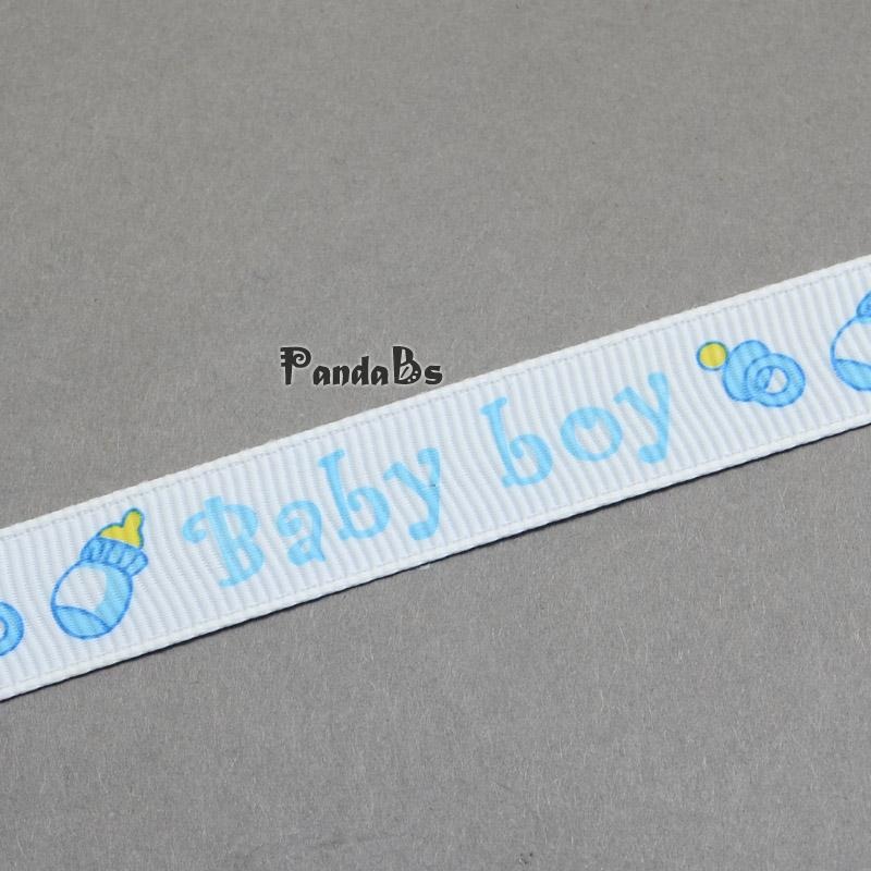 baby shower ornaments decorations word baby boy printed polyester