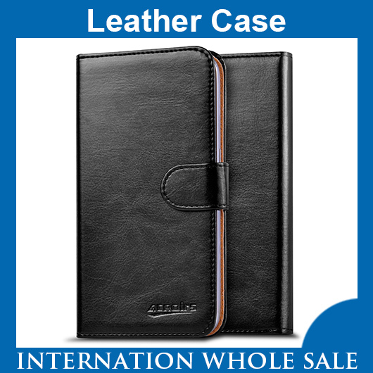 Archos 35 Titanium Case,High Quality Fashion Wallet Stand Flip Cover Leather for Archos 35 Titanium Case +Gift in Stock FreeShip(China (Mainland))