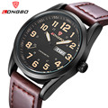 Relogio Masculino LONGBO Mens Watches Top Brand Luxury Quartz Casual Watch Men Leather Strap Military Waterproof
