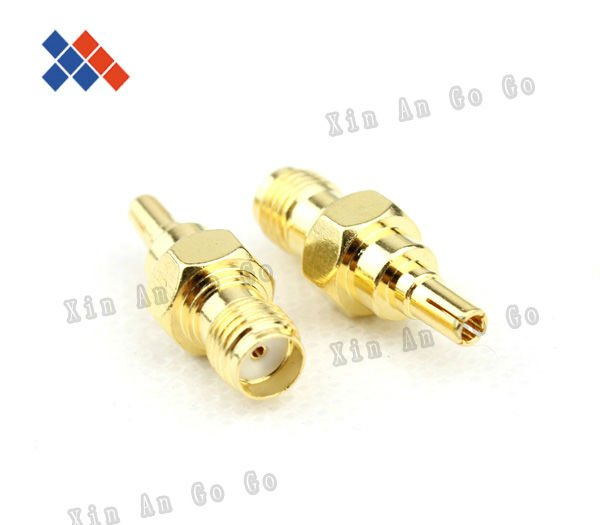 Wholesale Golden SMA-CRC9 adapter for ZTE MF91/HUAWEI connector many modem Free shipping<br><br>Aliexpress