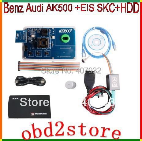 Оборудование для электро системы авто и мото AK500+EIS SKC+HDD MB AK500 + EIS SKC HDD 1