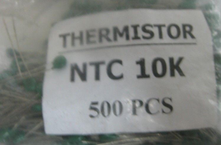 Thermistor NTC10K mark 103 diameter 5MM spot sales