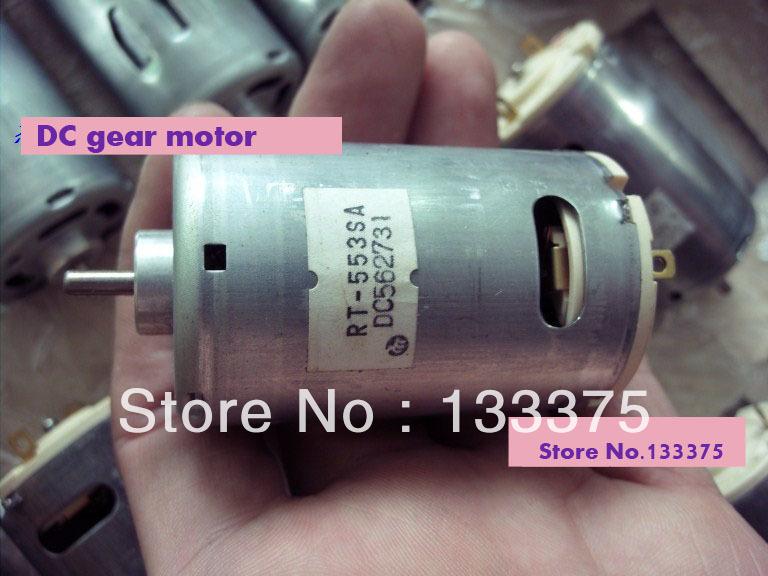 Rt 553sa 220v 21000 Rpm Dc Gear Motor 2pcs Lot Vibration
