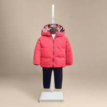 new baby down coat ski suit winter jacket for girls and boys infant overcoat mon warm90%white duck down children clothes outwear(China (Mainland))