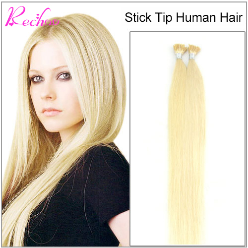 Pre Bonded 100 Human Hair Extensions 17