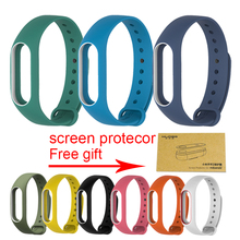 Buy Xiaomi Mi Band 2 Bracelet Strap Miband 2 Colorful Strap Wristband Replacement Smart Band Accessories Mi Band 2 Silicone for $1.57 in AliExpress store
