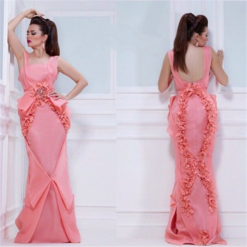 Online Buy Wholesale pink designer evening gown from China pink ...