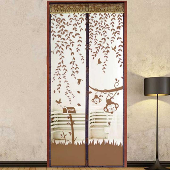 Delicate Gate Door Magnetic Curtain Magic Mesh Net Screen Anti Mosquito Bug Fly Home Usage Apr25 Hot Selling(China (Mainland))