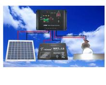 Китай professiona lSolar освещение система из светодиодов + 10 W солнечный панели + контроллер + проволока полный конфигурации A10