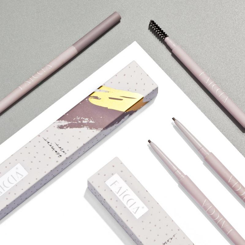 Для профессиональной двухконфорочная вафельница для бровей карандаш с щеткой ZW915 (5)